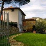 Eingang und Garten La Torre