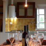 Wohnraum mit Küchenzeile Casa Oliva