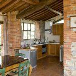 Wohnraum mit Küchenzeile Il Noce
