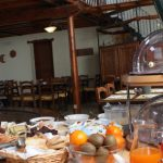 Frühstück im Borgo di Pieve a Salti