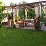 Garten mit Veranda