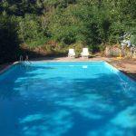 Pool Ferienhaus Aramo