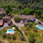 Luftaufnahme Il Tiglio und Casolare