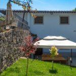 Il Tiglio Terrasse und Garten