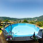 Ferienhaus Fragolotta Pool mit Aussicht