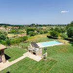 Villa Alexia Garten mit Pool