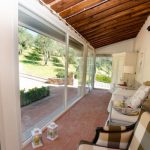 Ferienhaus Casale Al Sasso Wintergarten
